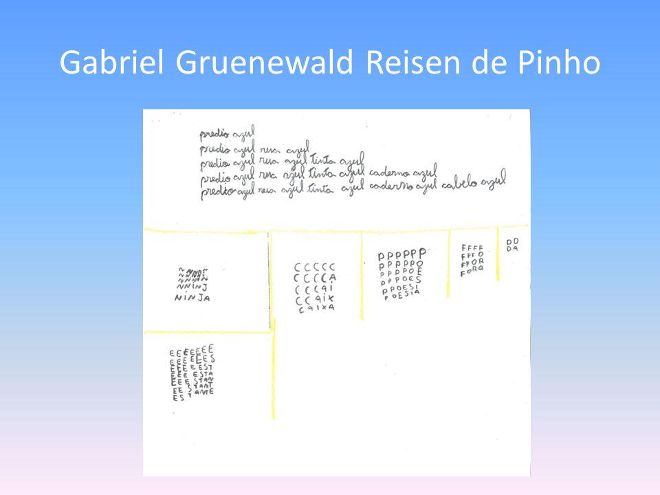 Gabriel Gruenewald Reisen de Pinho