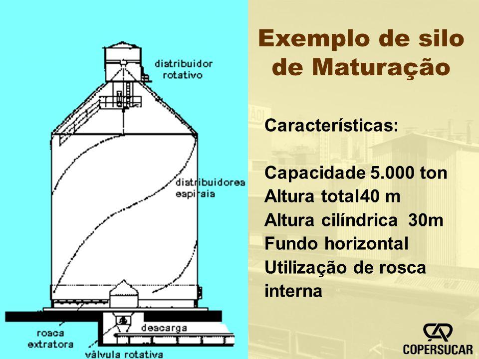 Exemplo de silo de Maturação