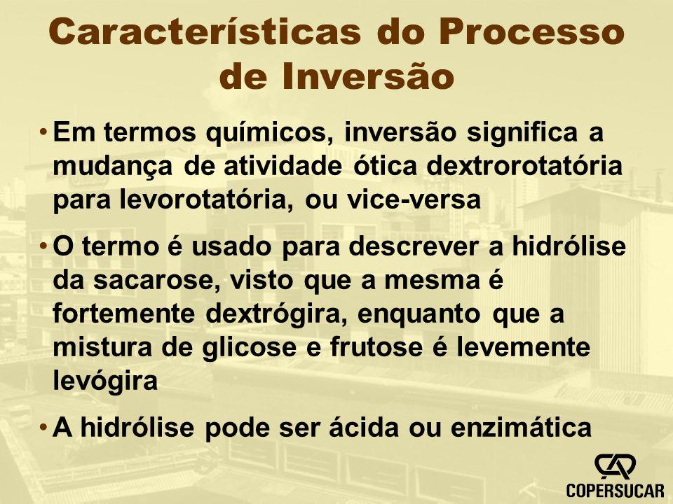 Características do Processo de Inversão