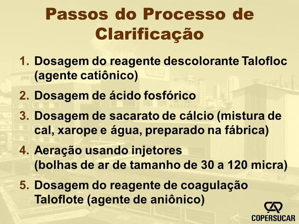 Passos do Processo de Clarificação