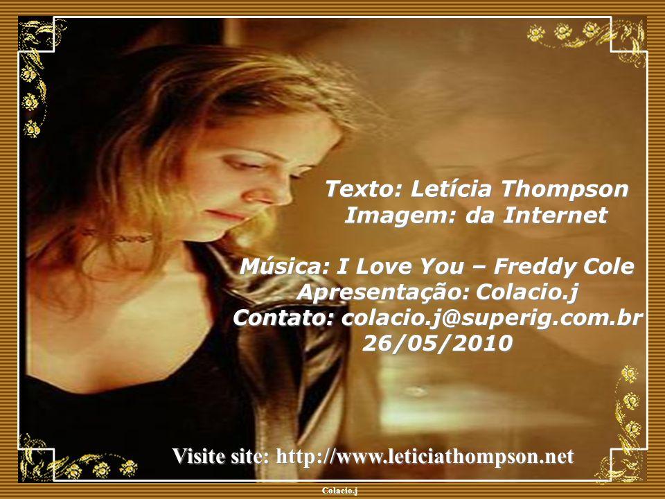 Texto: Letícia Thompson Imagem: da Internet