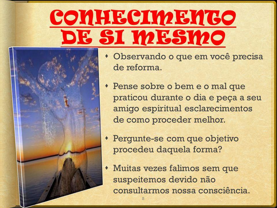 CONHECIMENTO DE SI MESMO
