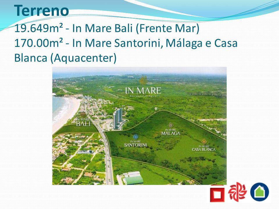 Terreno 19. 649m² - In Mare Bali (Frente Mar) 170