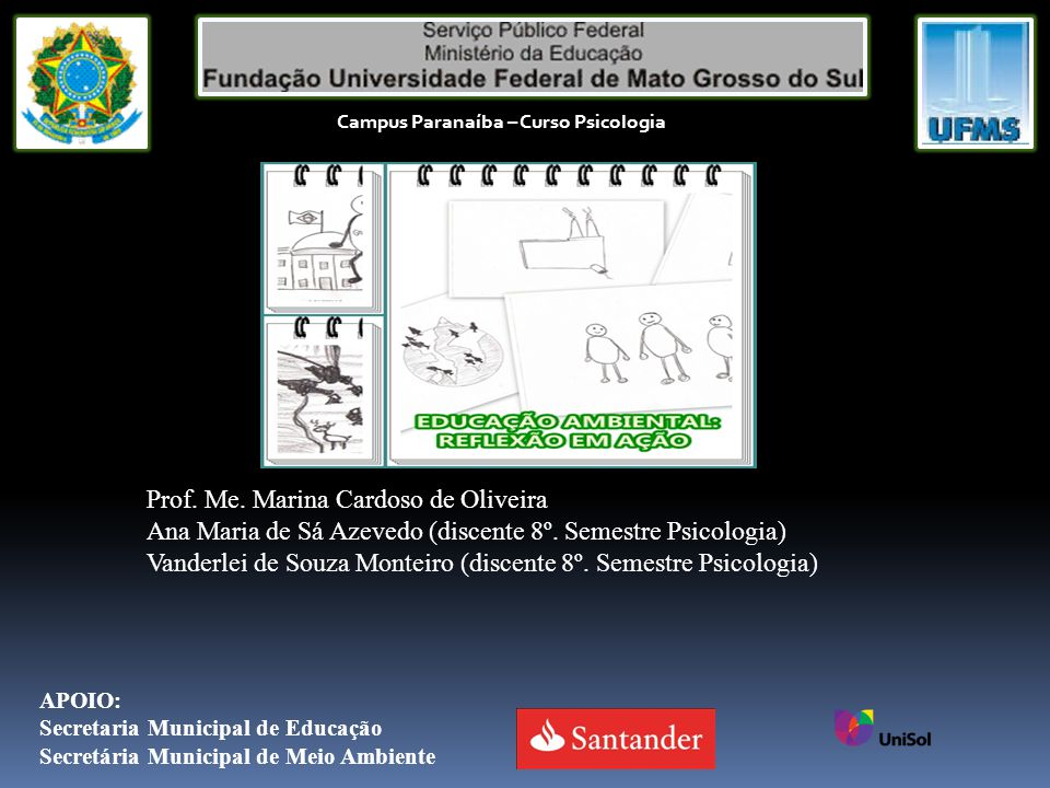 Prof. Me. Marina Cardoso de Oliveira