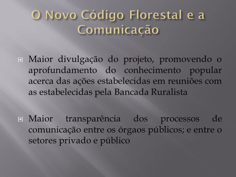 O Novo Código Florestal e a Comunicação