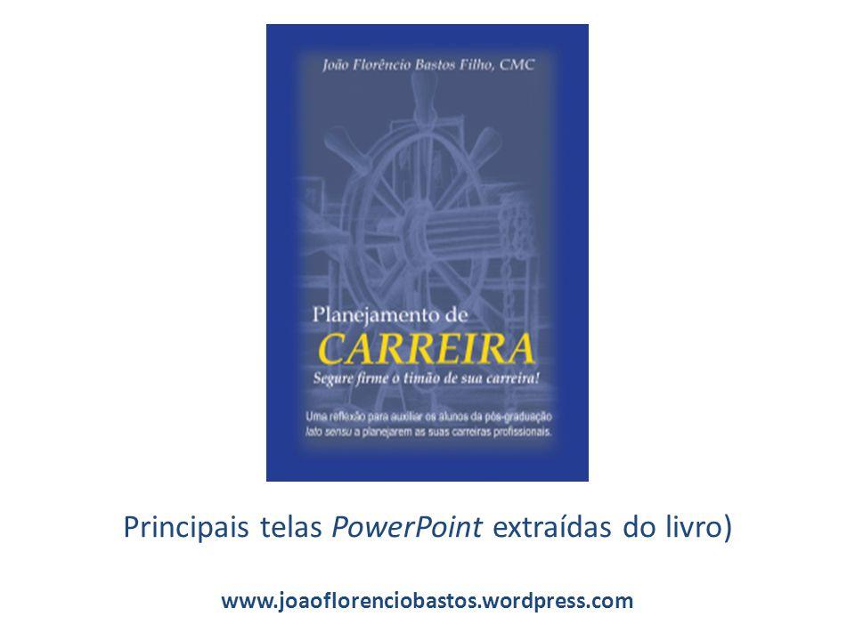Principais telas PowerPoint extraídas do livro) www