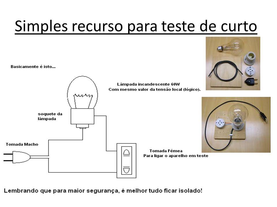 Simples recurso para teste de curto