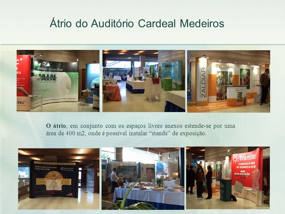 Átrio do Auditório Cardeal Medeiros