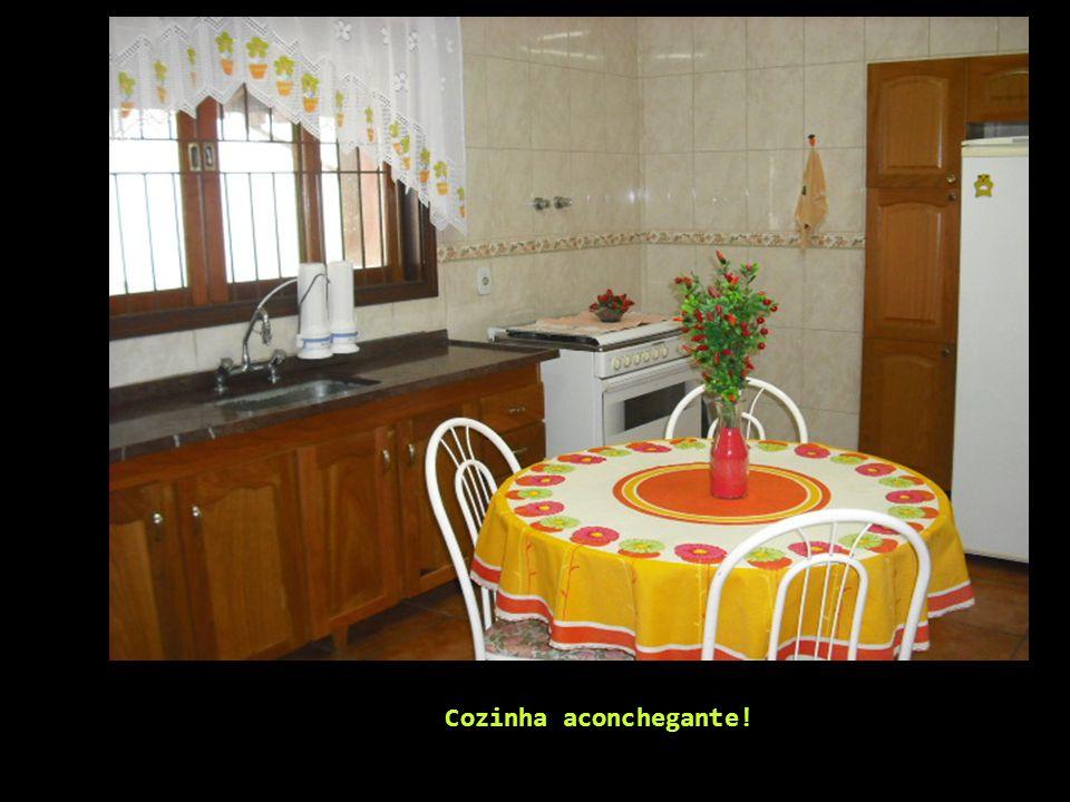 Cozinha aconchegante!