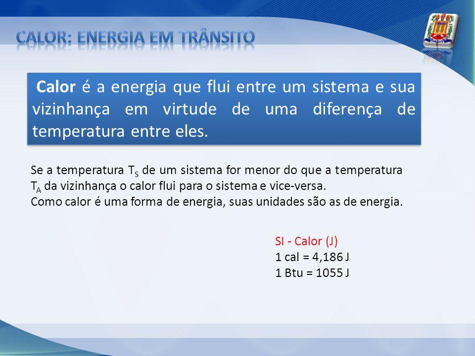 calor: energia em trânsito