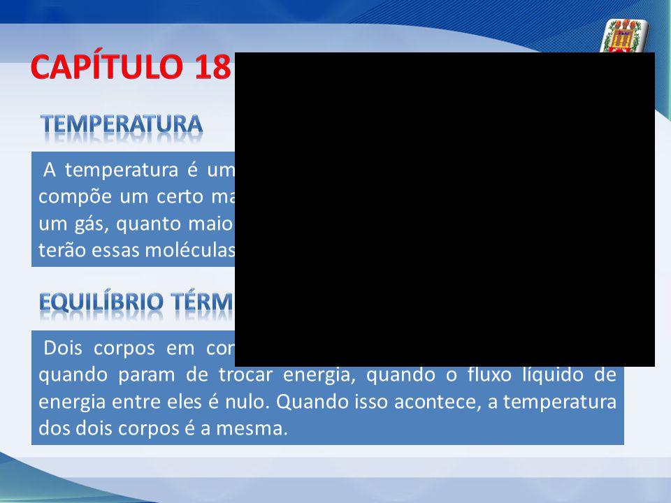 Capítulo 18 - temperatura
