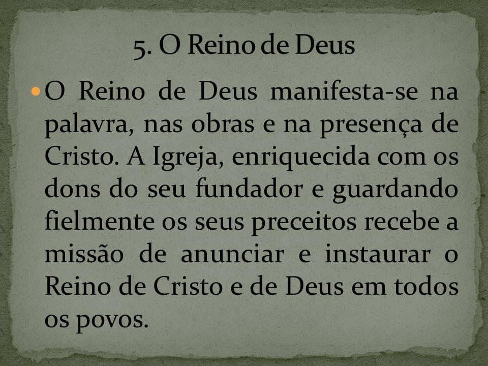 5. O Reino de Deus