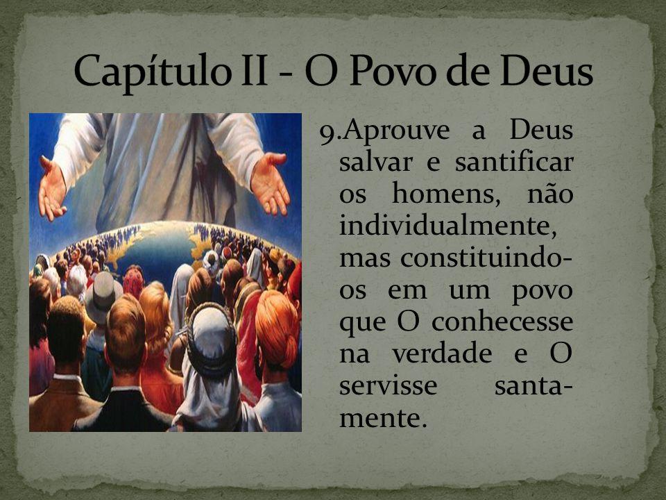 Capítulo II - O Povo de Deus