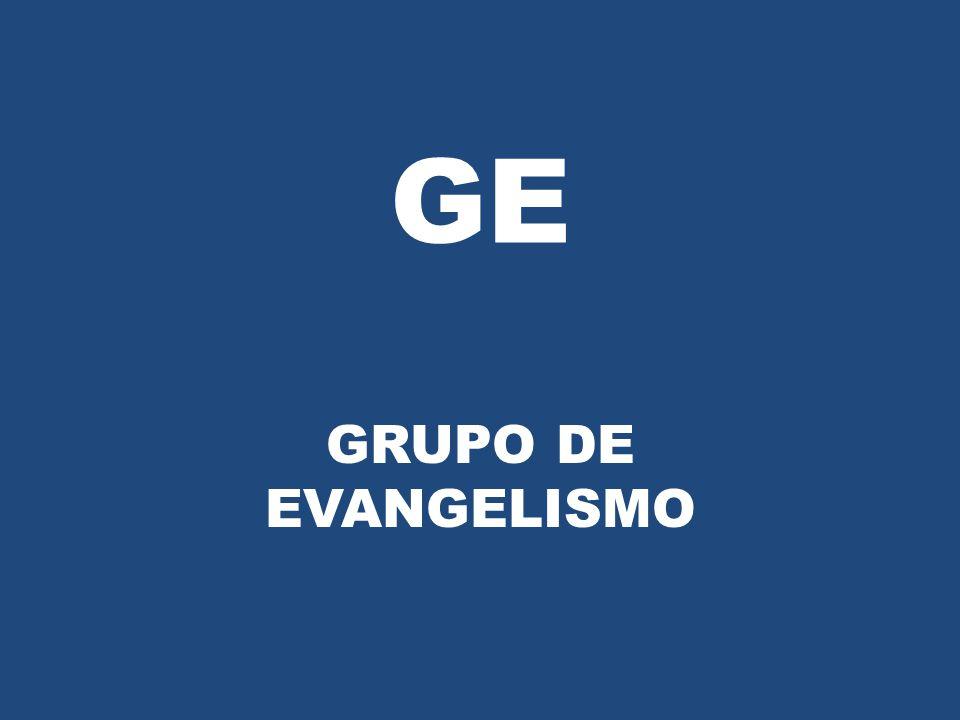 GE GRUPO DE EVANGELISMO
