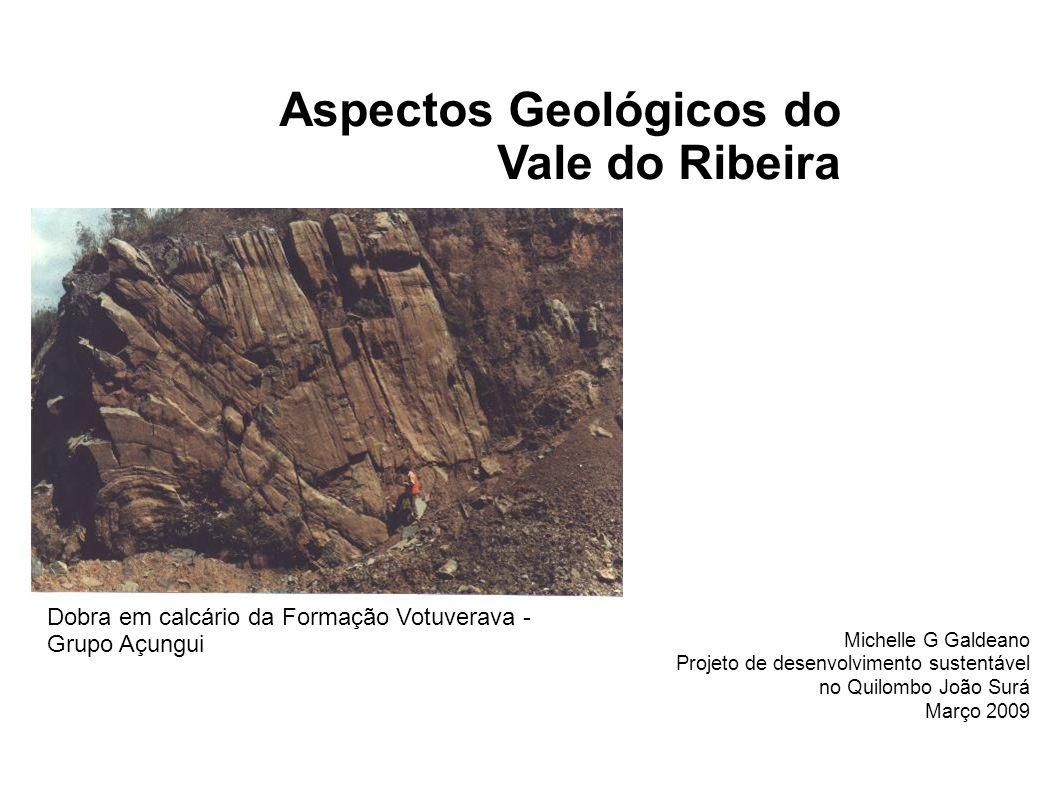 Aspectos Geológicos do Vale do Ribeira
