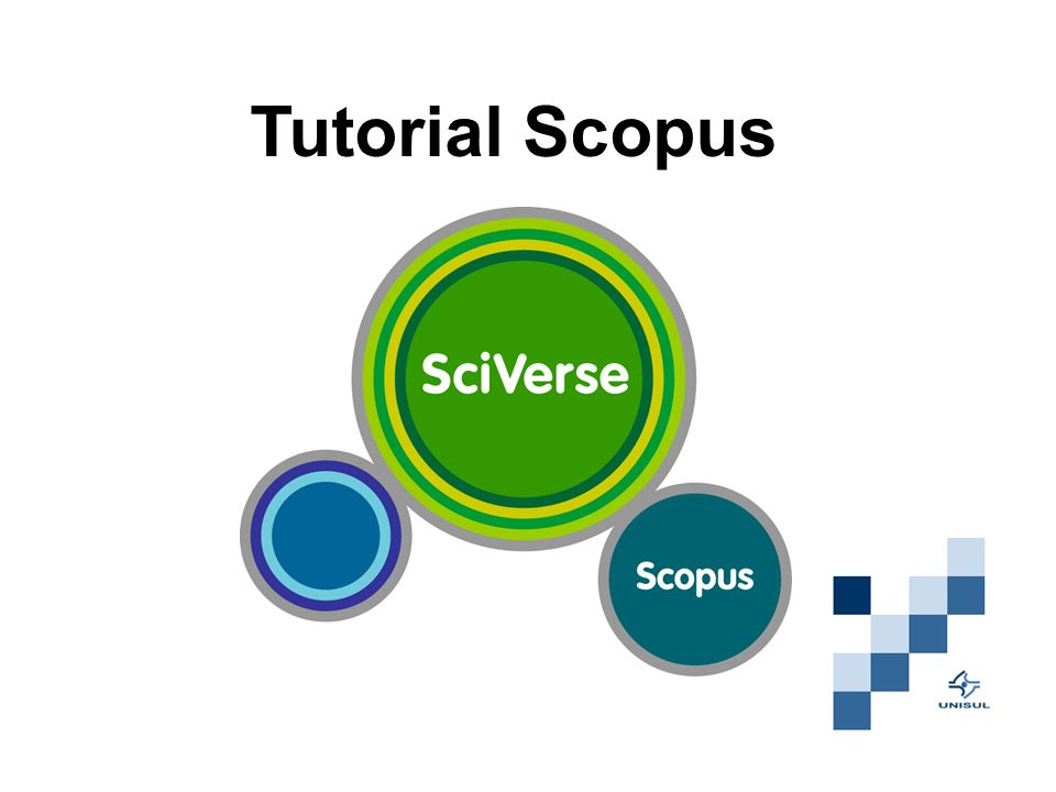 Tutorial Scopus
