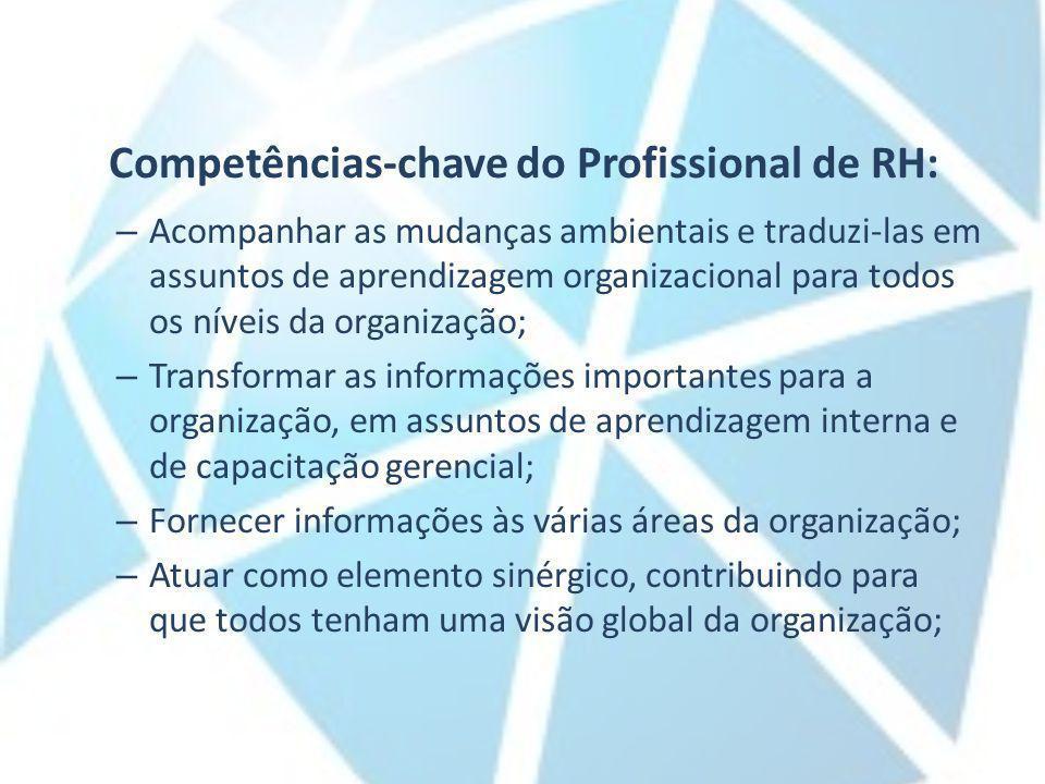 Competências-chave do Profissional de RH: