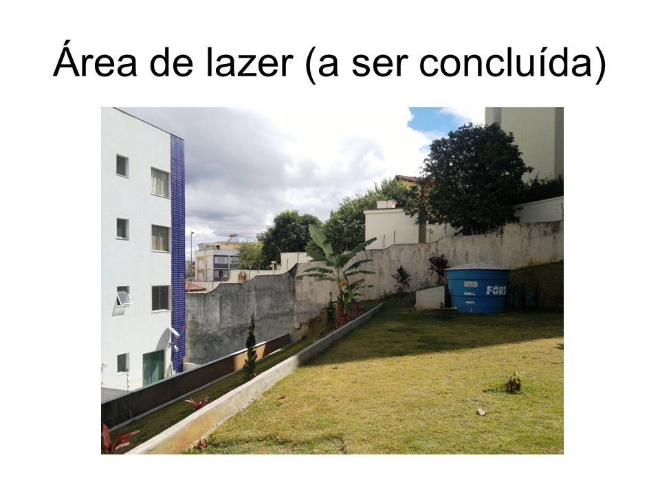 Área de lazer (a ser concluída)
