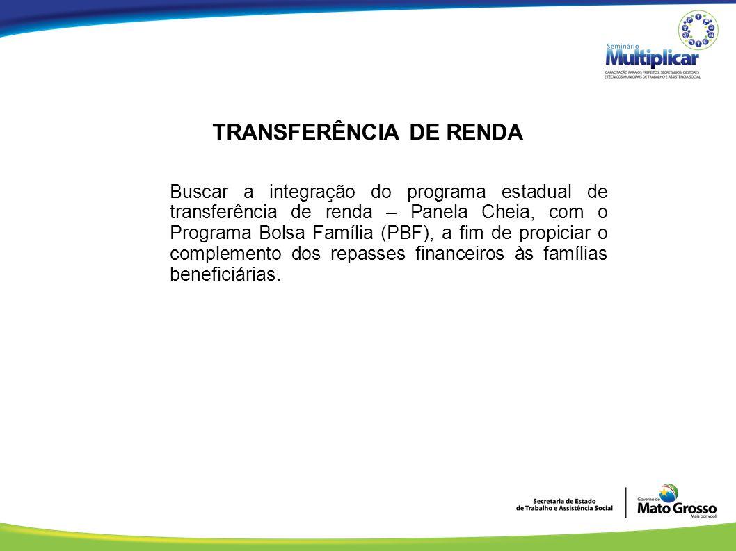 TRANSFERÊNCIA DE RENDA