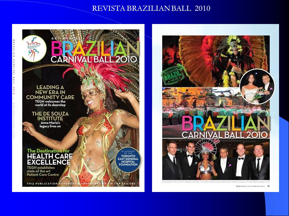 REVISTA BRAZILIAN BALL 2010