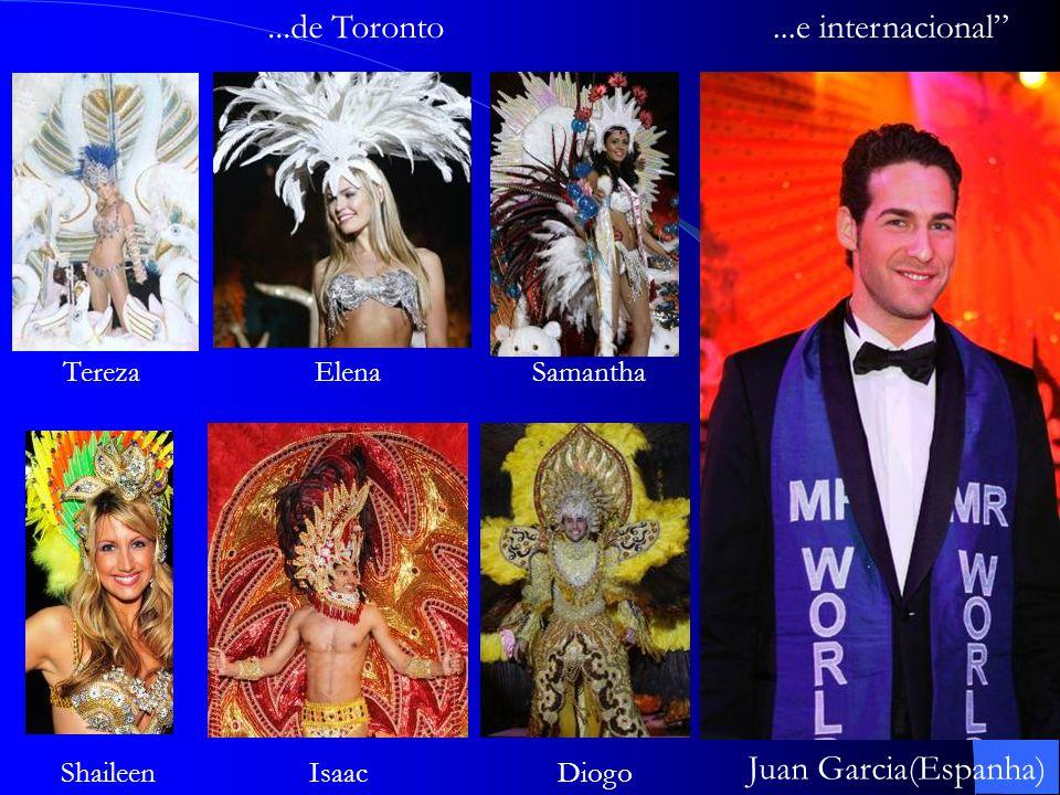 ...de Toronto ...e internacional Juan Garcia(Espanha) Tereza Elena