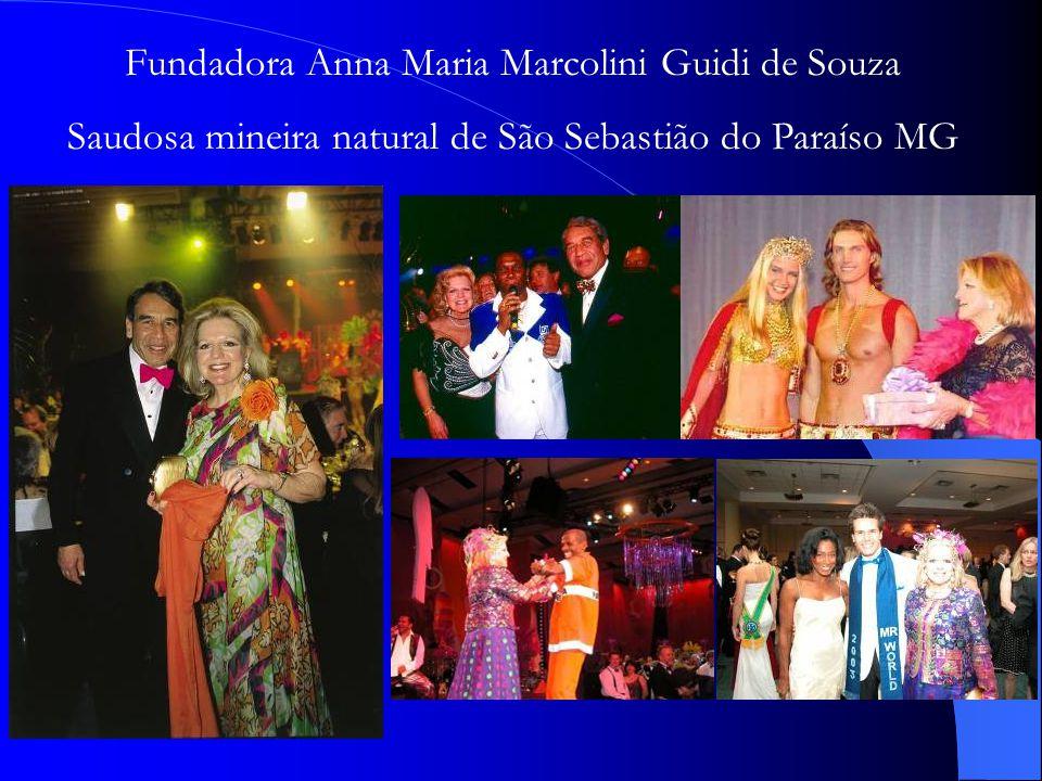 Fundadora Anna Maria Marcolini Guidi de Souza