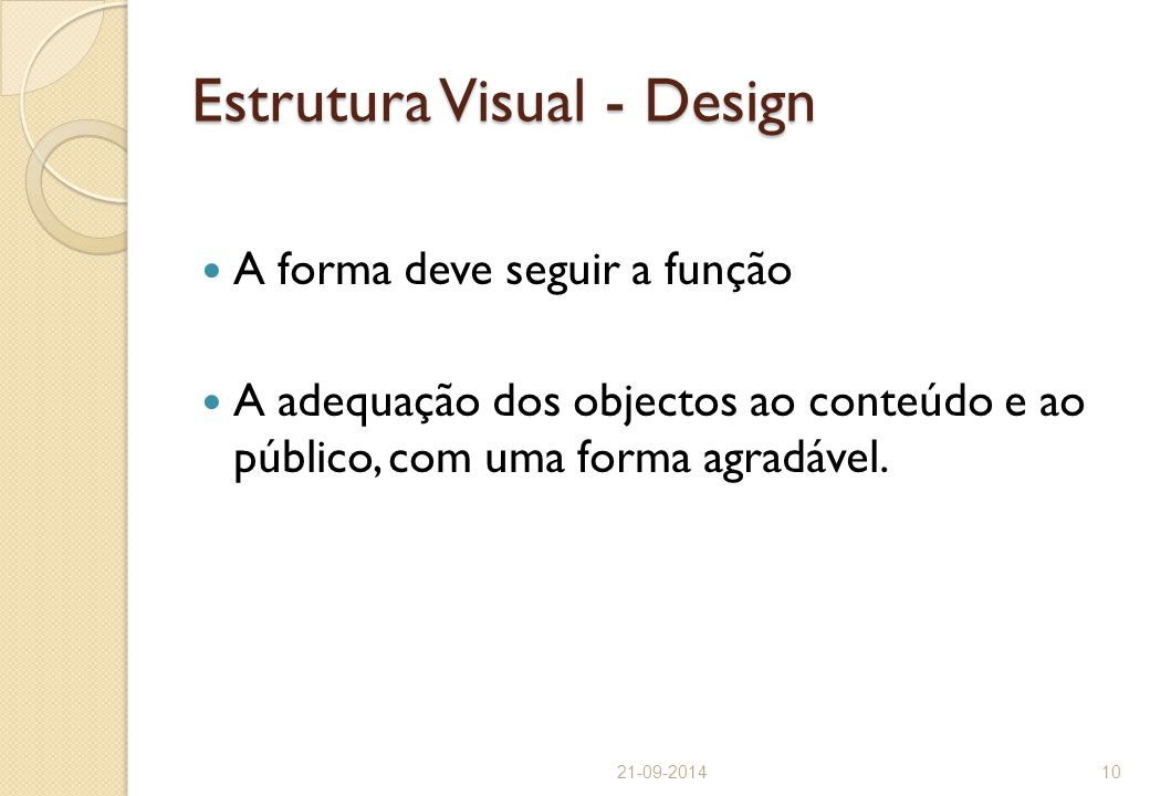 Estrutura Visual - Design