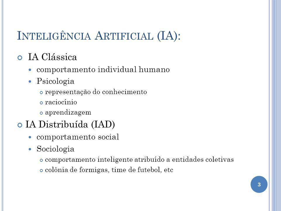 Inteligência Artificial (IA):