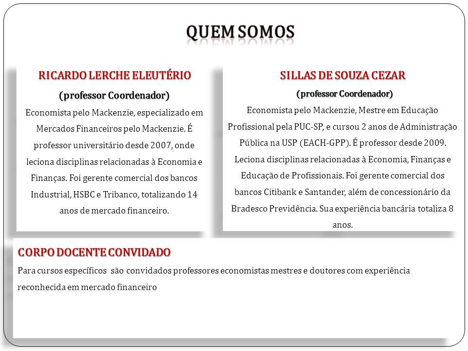 Quem somos RICARDO LERCHE ELEUTÉRIO SILLAS DE SOUZA CEZAR