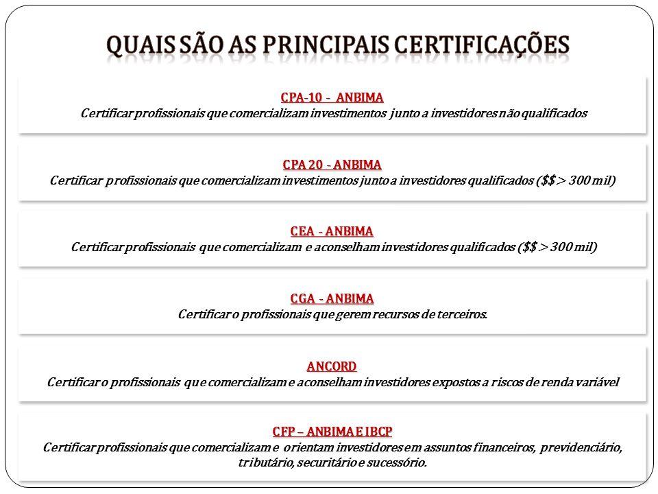 Quais são as principais certificações