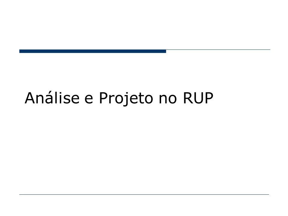 Análise e Projeto no RUP