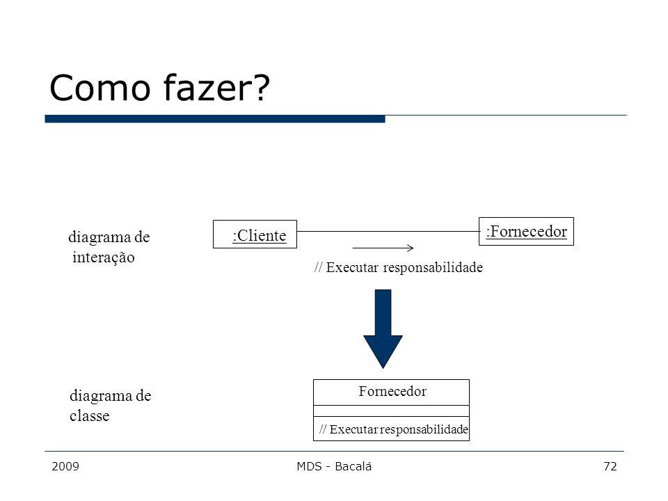 Como fazer :Fornecedor diagrama de :Cliente interação diagrama de
