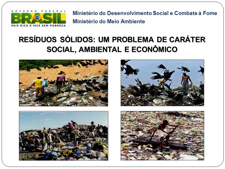 RESÍDUOS SÓLIDOS: UM PROBLEMA DE CARÁTER SOCIAL, AMBIENTAL E ECONÔMICO
