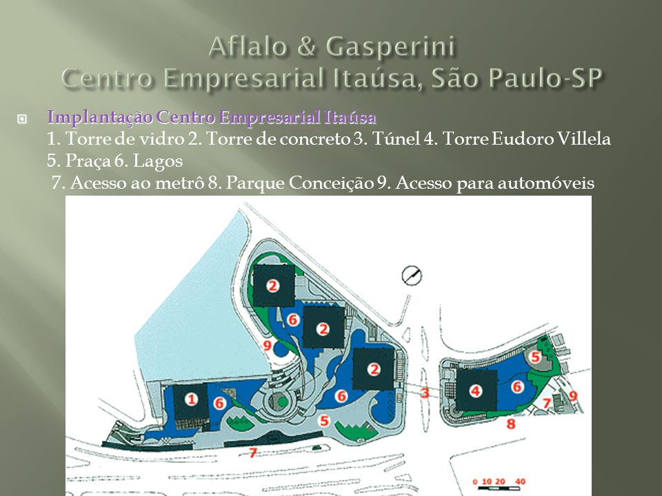 Aflalo & Gasperini Centro Empresarial Itaúsa, São Paulo-SP