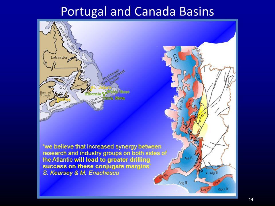 Portugal and Canada Basins