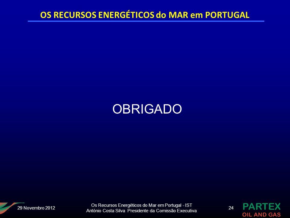 OS RECURSOS ENERGÉTICOS do MAR em PORTUGAL