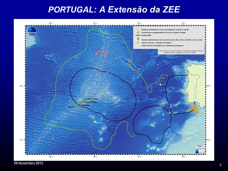 PORTUGAL: A Extensão da ZEE
