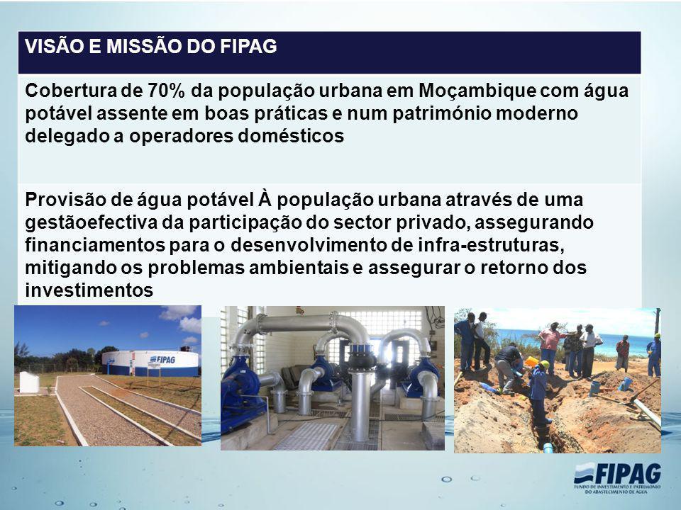 VISÃO E MISSÃO DO FIPAG