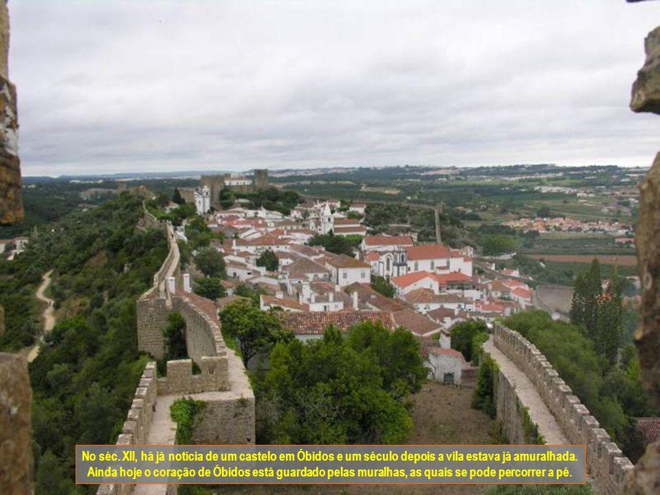 No séc. XII, há já notícia de um castelo em Óbidos e um século depois a vila estava já amuralhada.