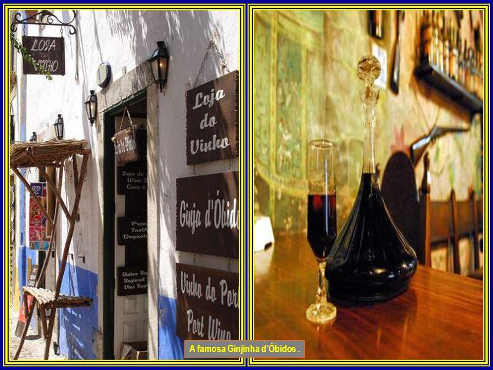 A famosa Ginjinha d'Óbidos .