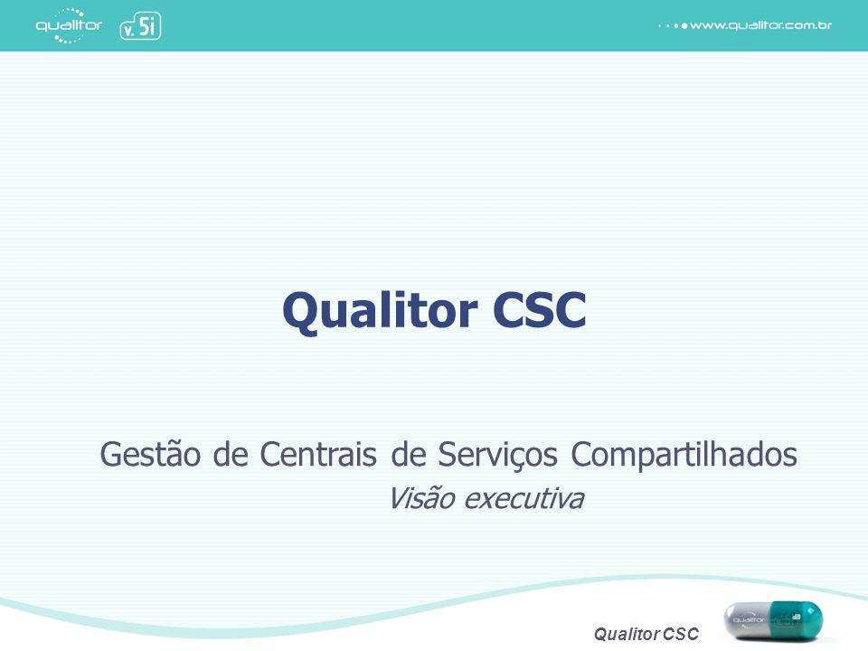 Qualitor CSC Gestão de Centrais de Serviços Compartilhados