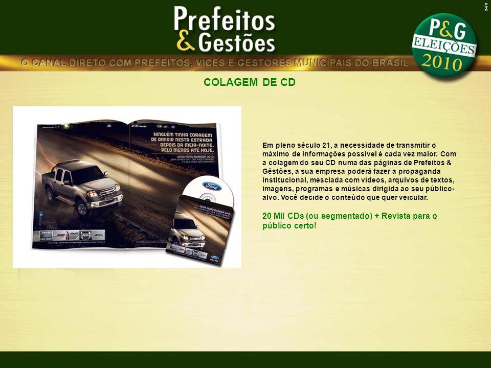 2478 COLAGEM DE CD.