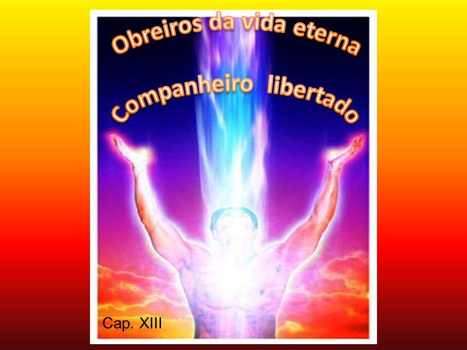 Obreiros da vida eterna Companheiro libertado