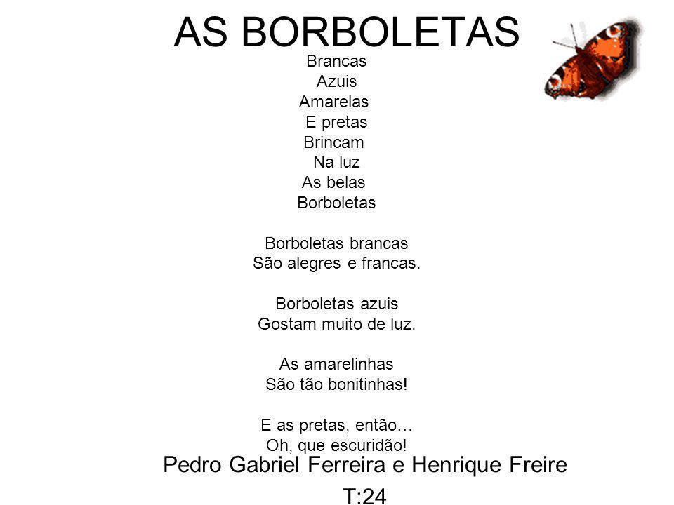 Pedro Gabriel Ferreira e Henrique Freire T:24