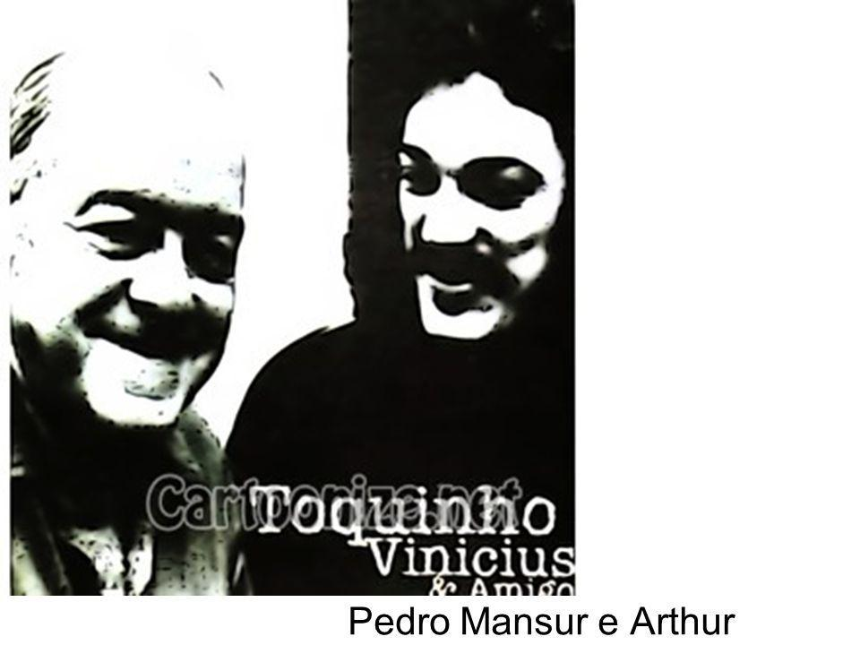 Pedro Mansur e Arthur