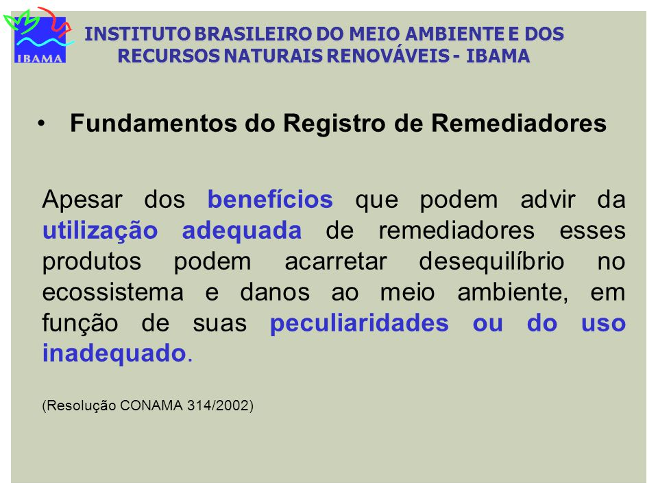 Fundamentos do Registro de Remediadores