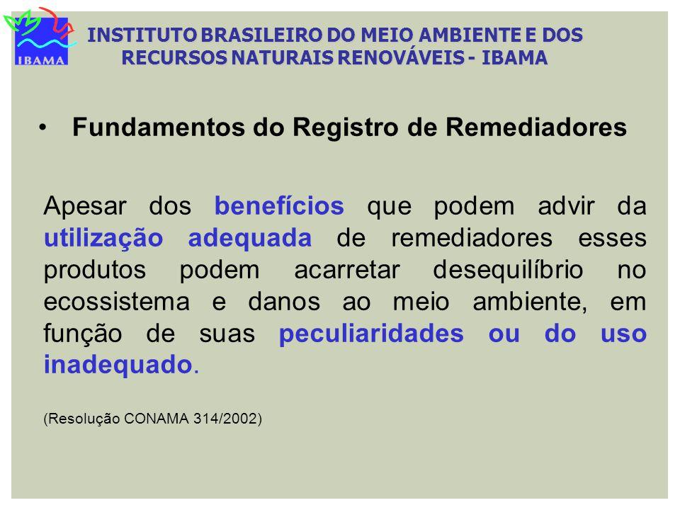 Fundamentos do Registro de Remediadores