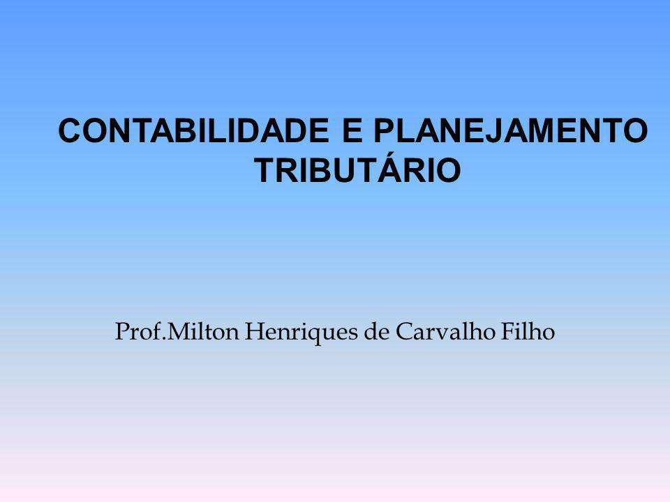Prof.Milton Henriques de Carvalho Filho