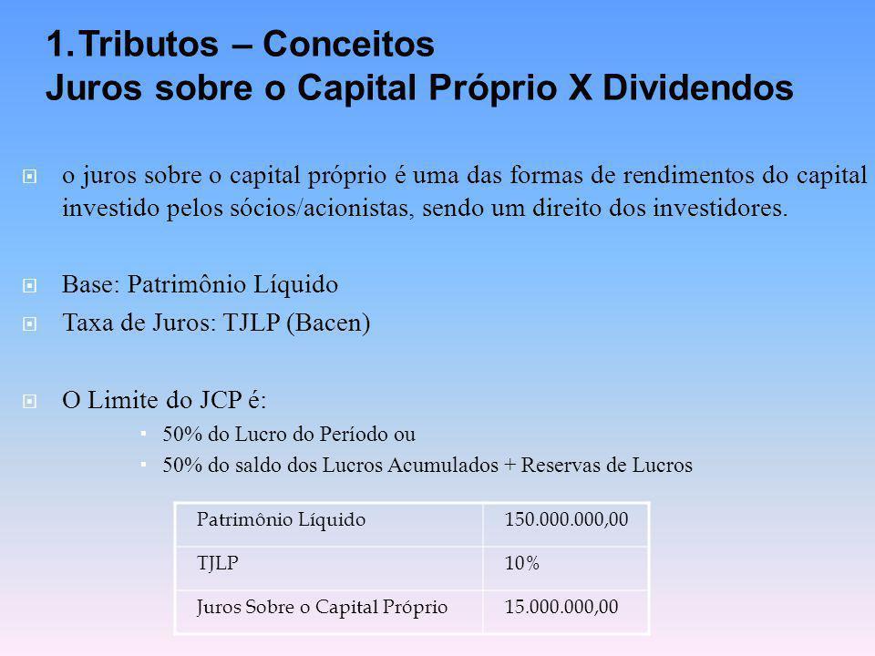 Juros sobre o Capital Próprio X Dividendos