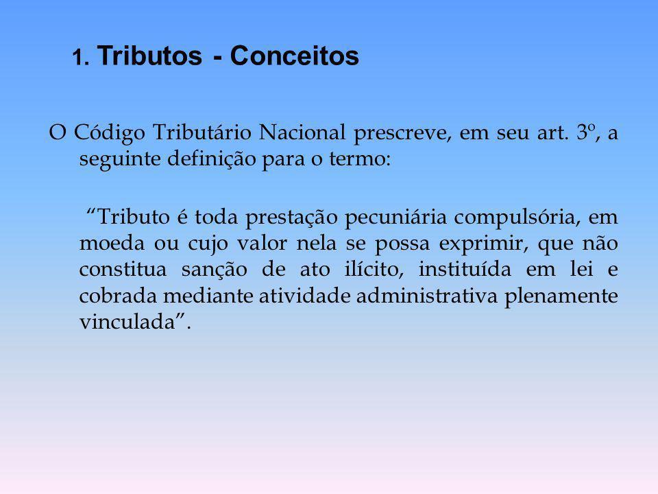 1. Tributos - Conceitos